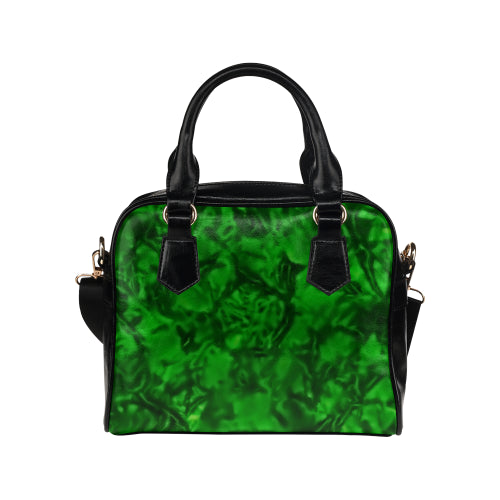 Wicket Green Shoulder Handbag
