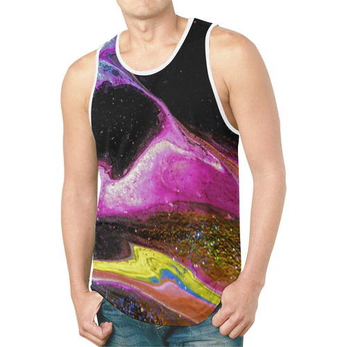 Chaotic Nebular Men's All Over Print Tank Top