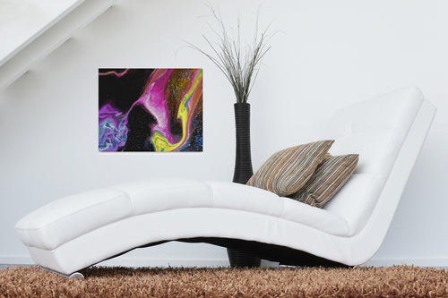 Chaotic Nebular Canvas Print 20