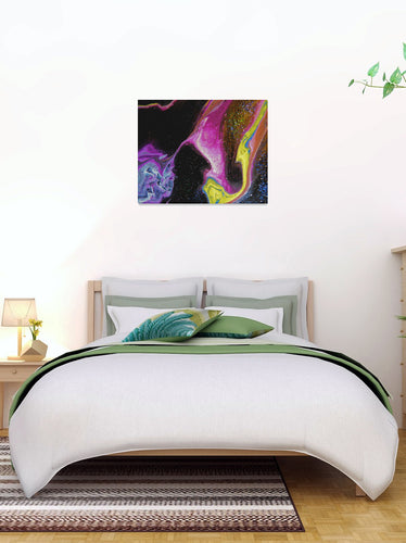 Chaotic Nebular Canvas Print 10