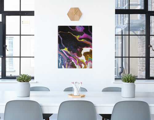 Flowing Universe Canvas Print 20