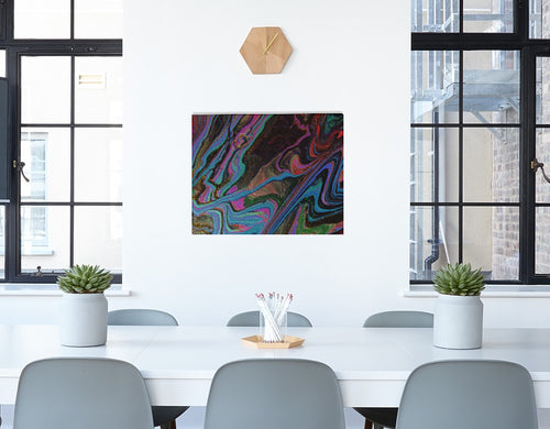 Neon Flux Canvas Print 10