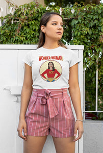 Wonder Woman: Alexandria Ocasio-Cortez T-Shirt - Feelin' Radical