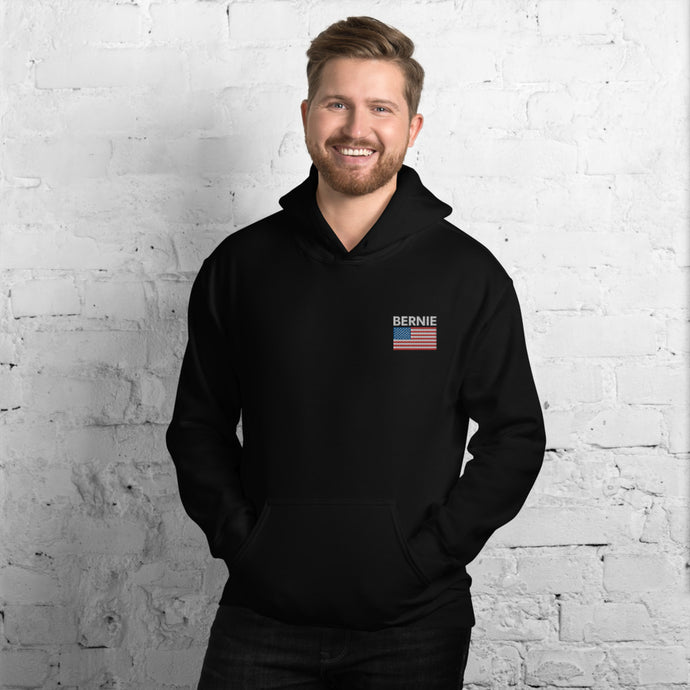 Bernie Sanders Embroidered Unisex Hoodie - Feelin' Radical