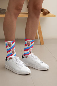 Bernie Sanders Socks - Patriot Stripes - Feelin' Radical