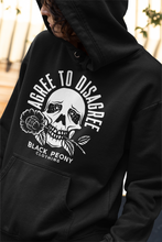 Load image into Gallery viewer, Agree to Disagree Hoodie • Black