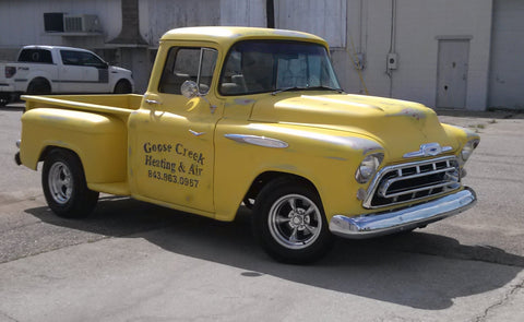 55 chevy pick up