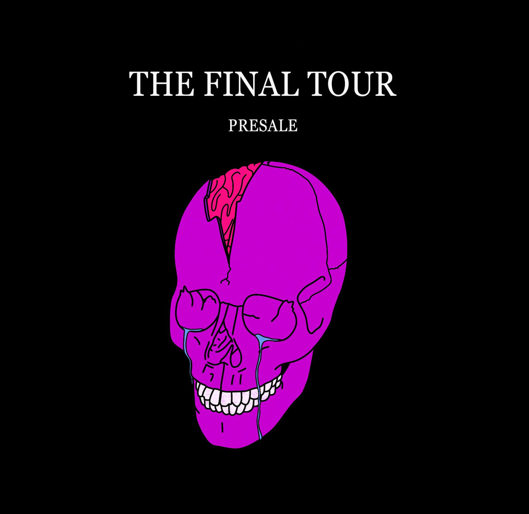 The Final Tour - Seattle, WA - Full VIP Package + Sad Kid T-Shirt Bundle - Early Bird Presale