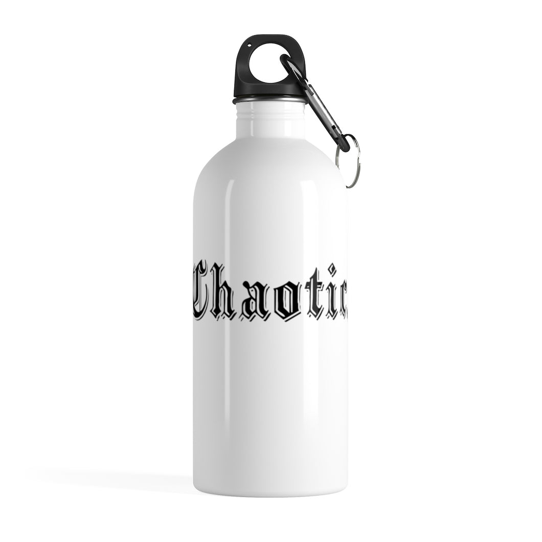 CHAOTIC - SKSKSKSKSteel Water Bottle