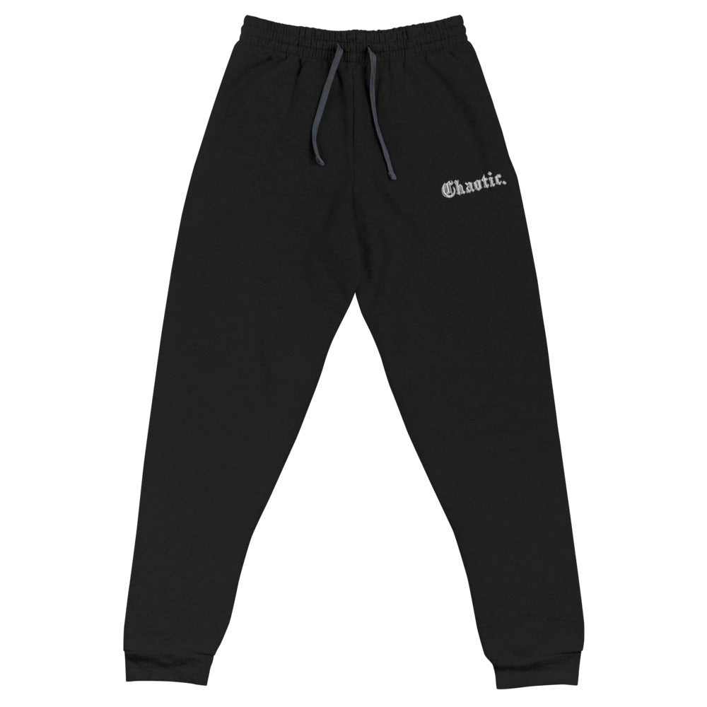 CHAOTIC - (LIMITED EDITION) - Embroidered Joggers