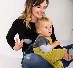 Organic Long Sleeve Nursing Tops