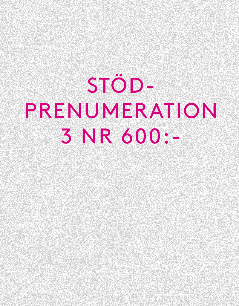 Stödprenumeration