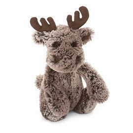 Bashful Moose Plush Toy
