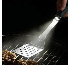 Stainless Lighted Grilling Spatula