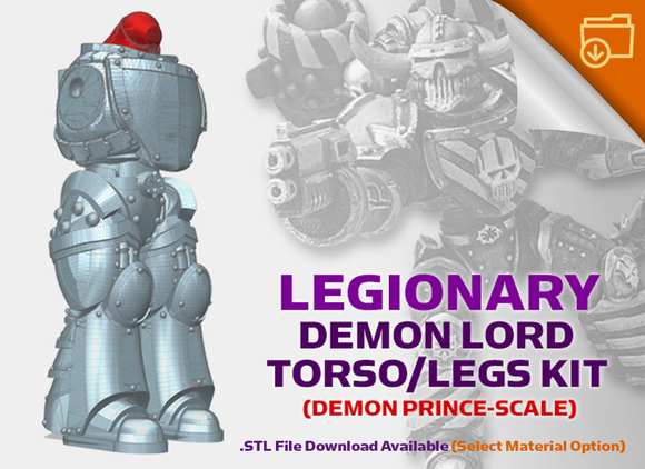 Base Legionary: Demon Lord Torso/Leg Kit