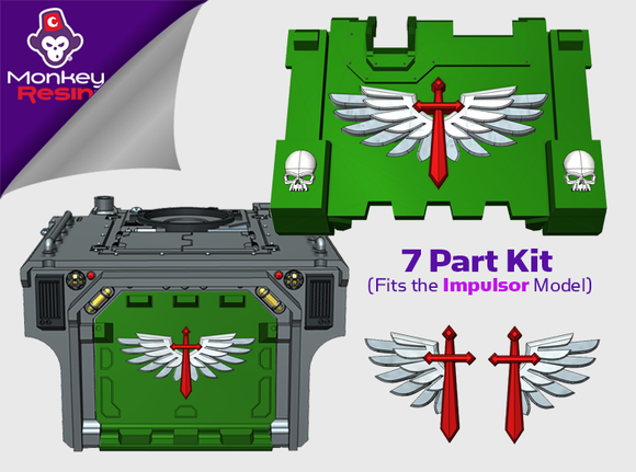 Winged Sword : Full Rhinoback Impulsor Kit