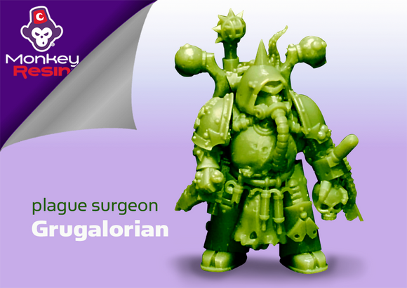 Full Character Kit: Plague Surgeon Grugalorian