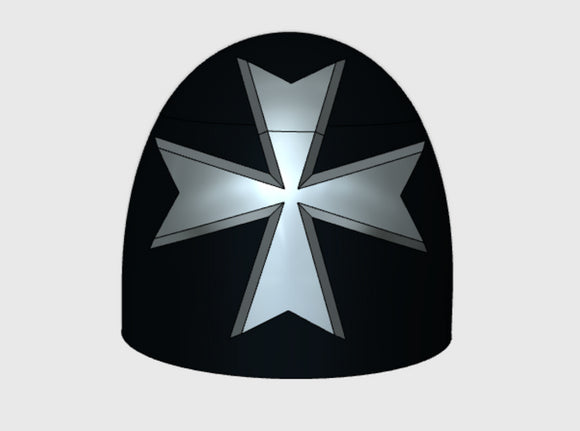 10x Maltese Cross - G:5a Shoulder Pads 3d printed