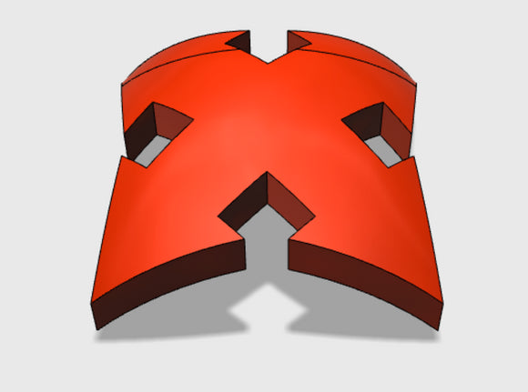 60x Assault 1 : Shoulder Insignia pack 3d printed