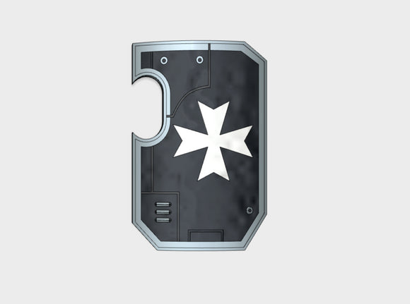 10x Maltese Cross - Marine Boarding Shields 3d printed