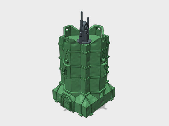 [Tiny Titans] Coms Relay Bastion 3d printed