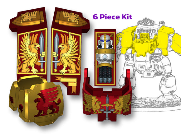 Griffon Corp: Full Redem Kit 3d printed Will fit the Primaris Redemptor model