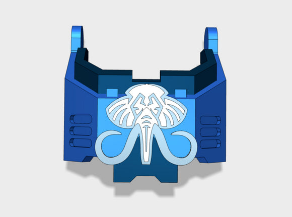 Mastodon: Redem Harness	 3d printed Will fit the Primaris Redemptor model