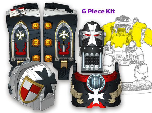 Maltese Cross: Atlas Pattern Full Kit 3d printed