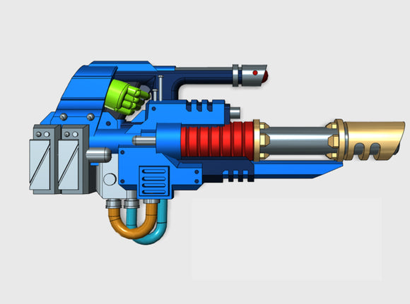 Underslung Laser Cannon 3d printed