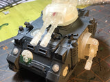 Phobos Battle Tank: Twin Laser Turret Weapon 3d printed