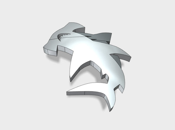 60x Hammerheads - Shoulder Insignia pack 3d printed