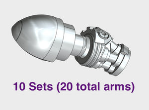 10x Bionic - Adjustable Arm Sets 3d printed