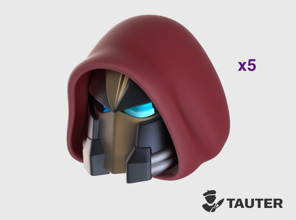 Hooded - Vanguard Helmets 3d printed Small = 5 Helmets | Medium = 10 Helmets