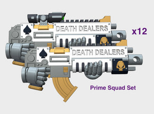 12x Death Dealers - Primefire X1 : Prime Squad Set 3d printed