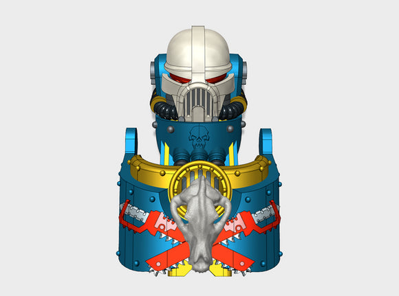 Sons of the Hunt : Atlas Sarcophagus Set 3d printed