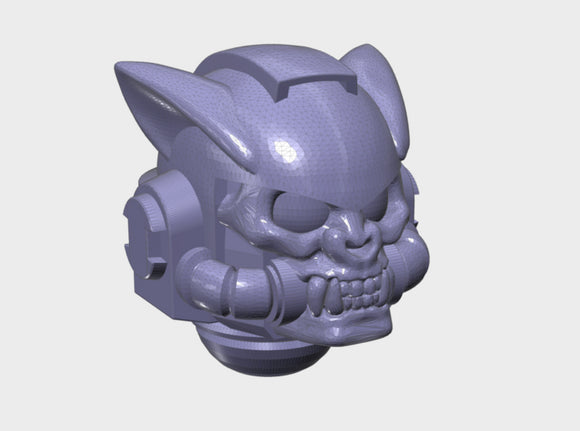 10x Base - G:9 Vampire Bat Helms 3d printed