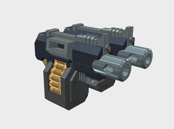 Grav-Bike Weapons: Heavy Rapfire BF01 3d printed