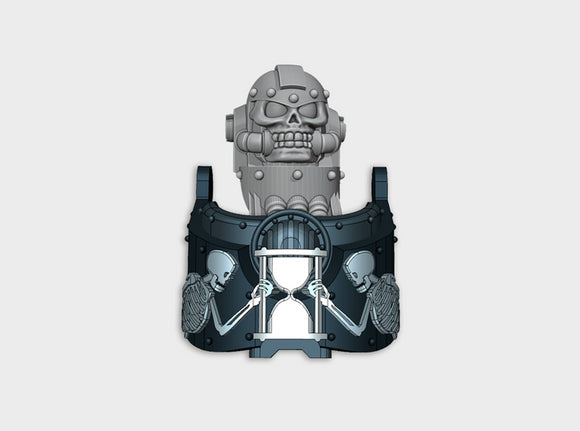 Mori Tempus: Atlas Sarcophagus Set 3d printed