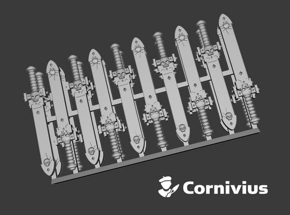 20x Energy Sword: Cornivius (Sheathed) 3d printed