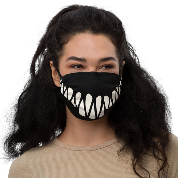 Sinister Grin Premium face mask