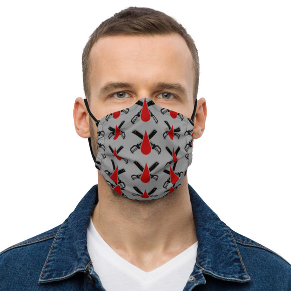 Chain Blades Premium face mask