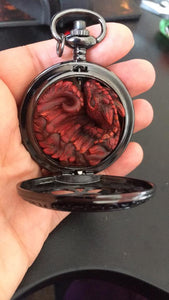 Custom order Pocketwatch Dragon