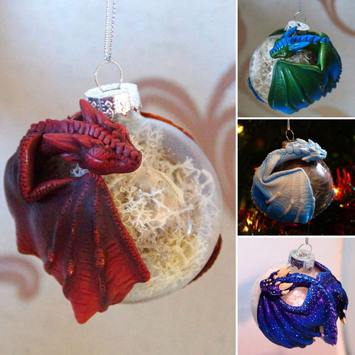 Custom Dragon Bauble (Will re-open in the New Year)