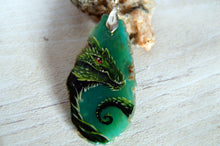 Load image into Gallery viewer, Green Wyrm Dragonagate