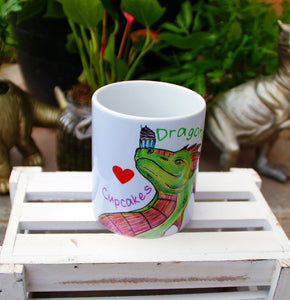 Dragons Love Cupcakes Mug