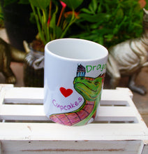 Load image into Gallery viewer, Dragons Love Cupcakes Mug