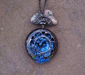 Scorpio Pocket Watch Dragon
