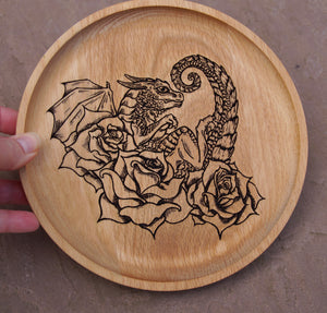 Rose Dragon Dish (Made to order)