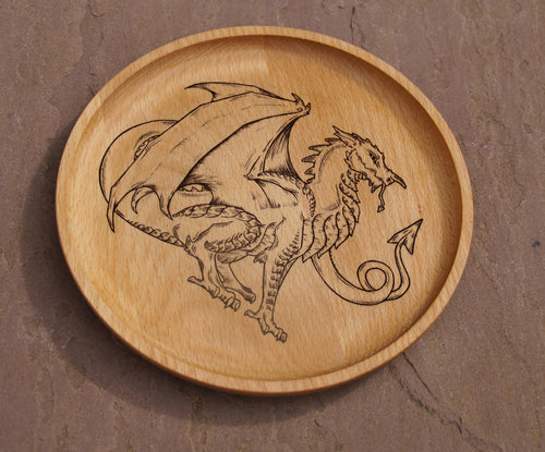 Welsh Dragon Dish (Made to order)
