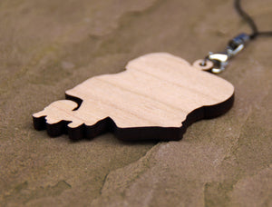 Mimic Cherry Wood Charm